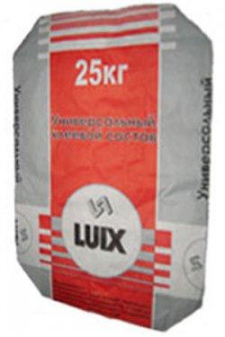 Клей для плитки Luix в мешках по 25 кг